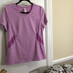 Lole lavender yoga top-L